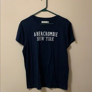 Abercrombie and Fitch Navy Blue New York T-Shirt